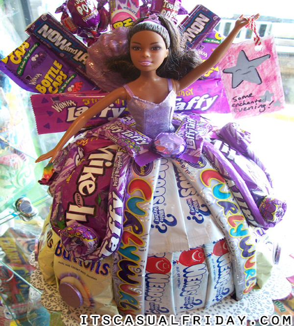 barbie candy cakes