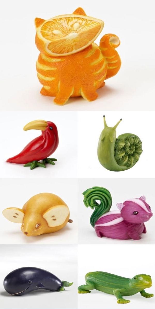 food or art