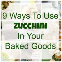 9 Ways To Use Zucchini In Your Baked Goods