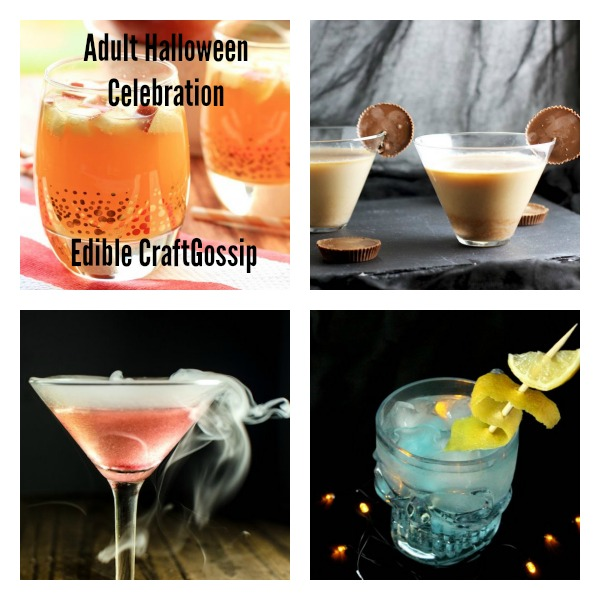 adult halloween celebration