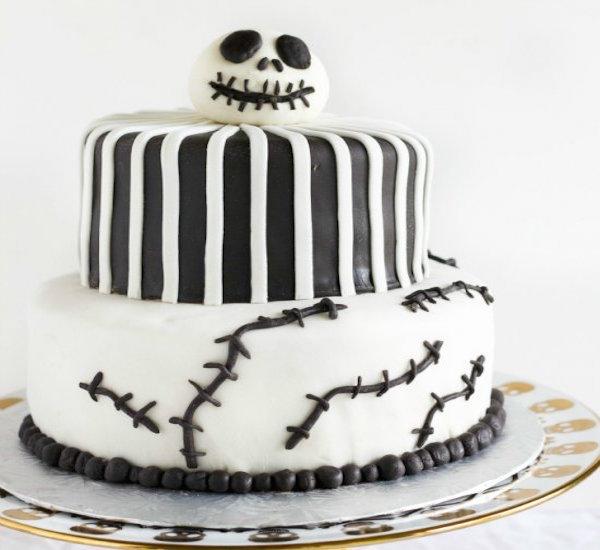 Nightmare Before Christmas Cake Edible Crafts