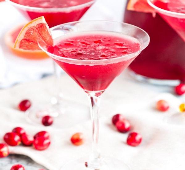 easy cranberry daiquiris