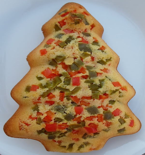 cornbread Christmas tree
