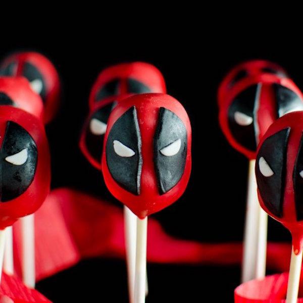 funfetti deadpool cake pops