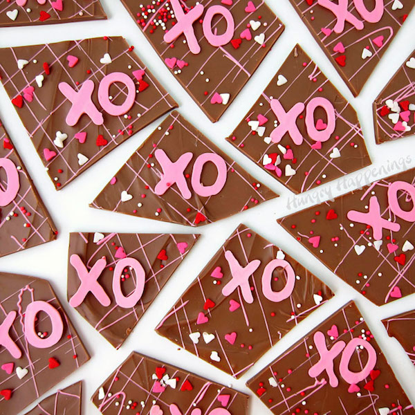 hugs-and-kisses-chocolate-bark-xs-and-os