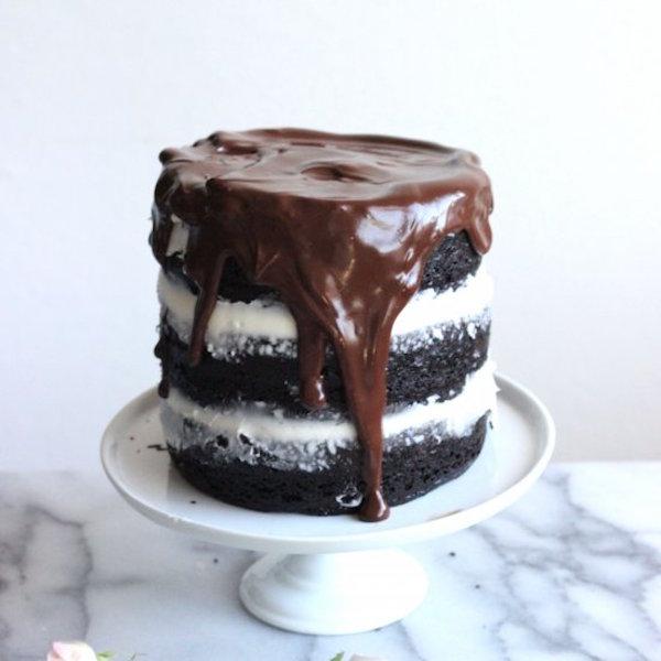 thin mint chocolate cake