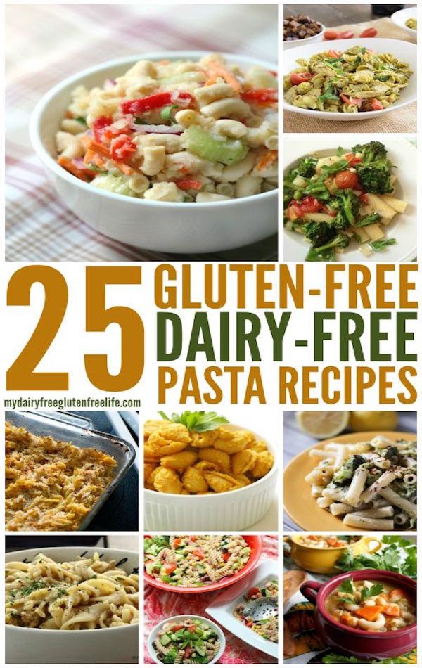 25 gluten free dairy free pasta dishes