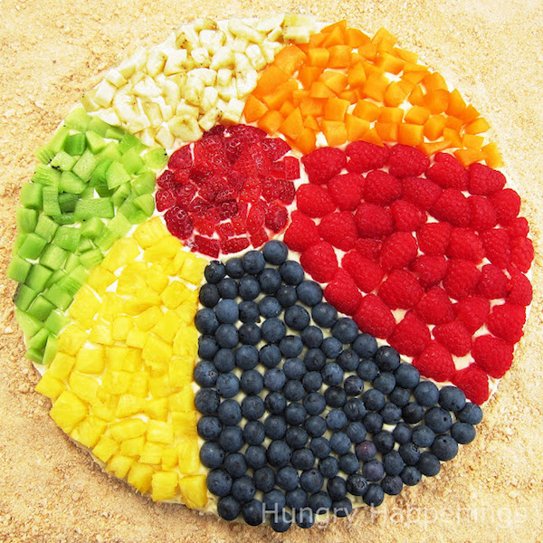 Beach-Ball-Cookie-Recipe,-Pool-Party-Food