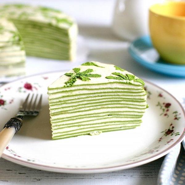 matcha mill crepe cake