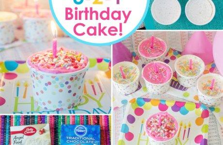 Easy as 3-2-1 Cake