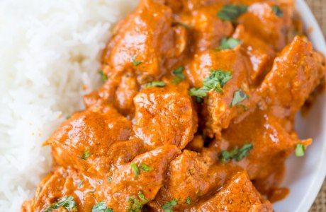 One Pot Slow Cooker Butter Chicken