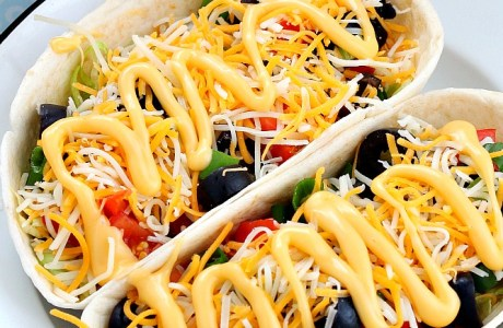 Easy Taco Boats For Dinner