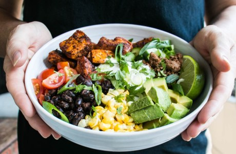 Sweet Potato Taco Bowl
