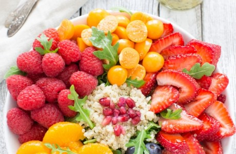 Fresh Fruit FRESH FRUIT ARUGULA QUINOA SALAD