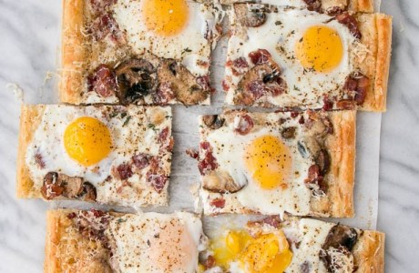 Delicious Egg Breakfast Pie