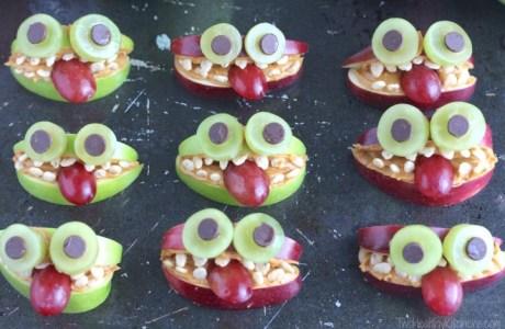 Halloween School Lunch Monsters