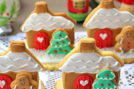 Gingerbread House -Stand Up Cookies