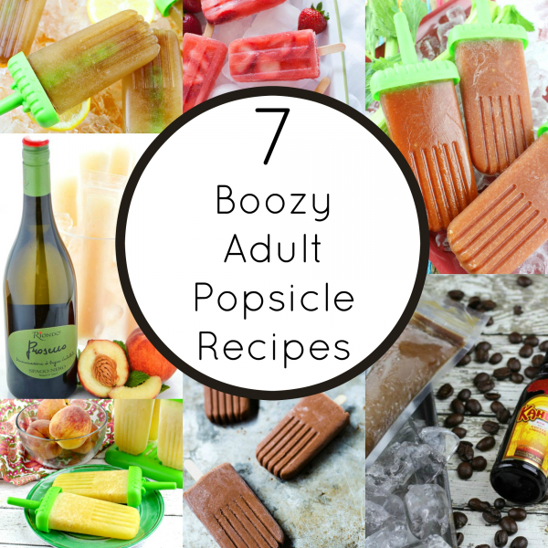 Boozy Popsicle Recipes For Adults