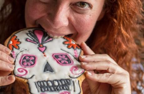 Dia de los Muertos Halloween Cookies