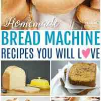 Homemade Breadmaker Recipes