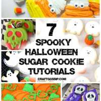 7 Easy Sugar Cookie Tutorials For Halloween