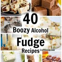 40 Boozy Fudge Recipes