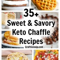 35 Sweet And Savory Keto Chaffle Recipes