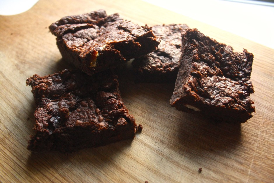 Vegan Dirty Brownies Aquafaba Recipe
