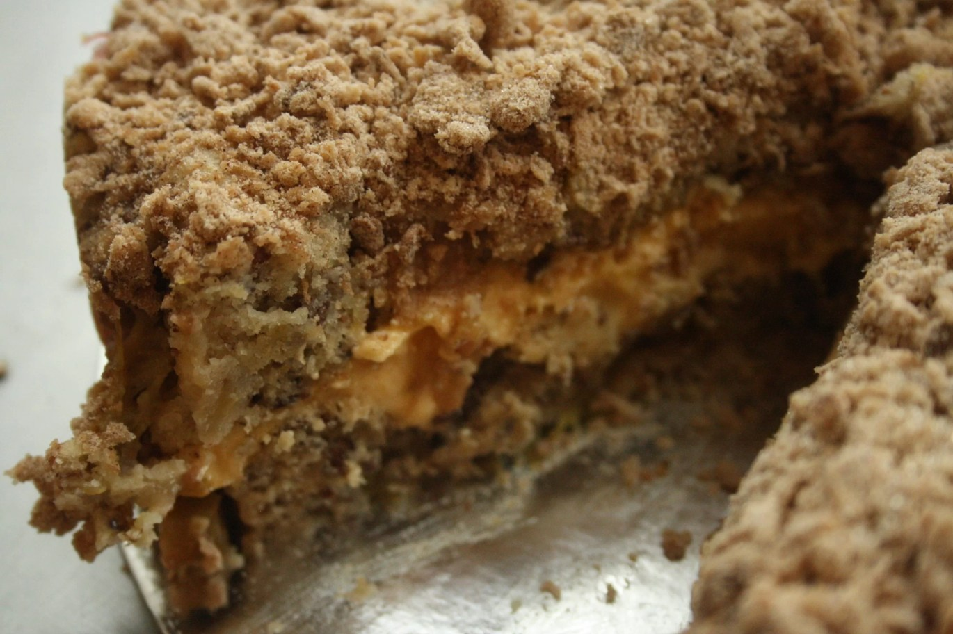Vegan Rhubarb Crumble Cake Recipe