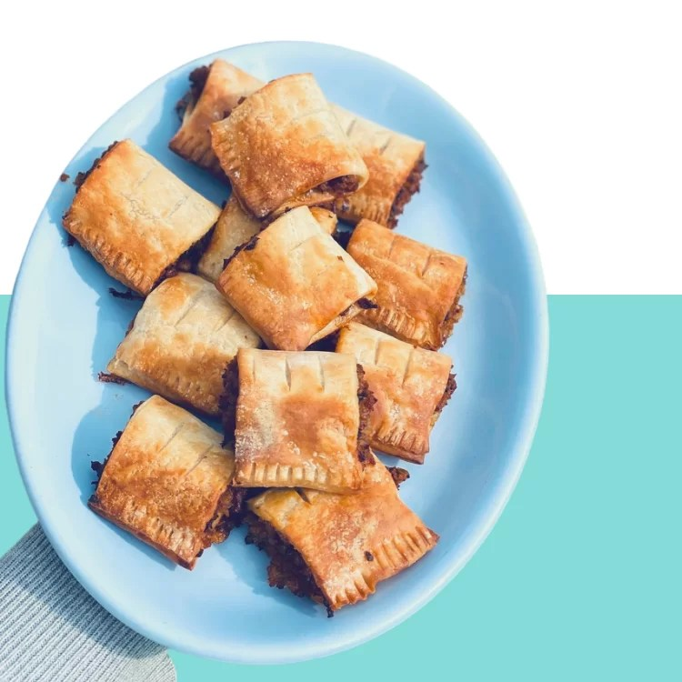 vegan and gluten-free sausage rolls