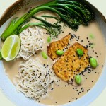 vegan ramen recipe using oatly vegan milk