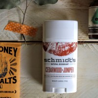 A surprising thing happened with Schmidt's Natural Deodorant Stick