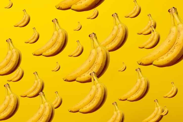yellow banana fruits