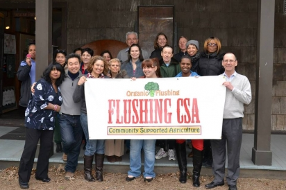 Members of the Flushing CSA team.