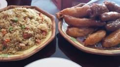 Chinese food in Chinatown (Boston)