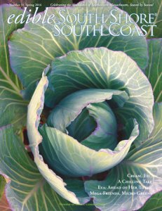 Edible South Shore Spring 2016 Cover