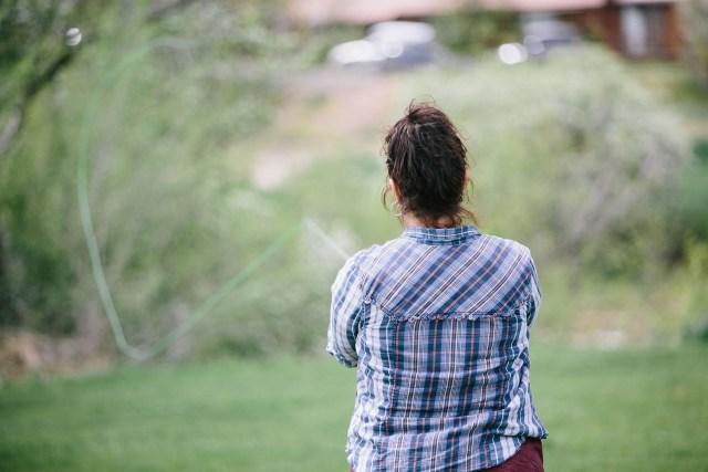 fly fishing girl