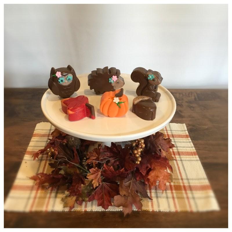 Woodland fall mini cake tutorial