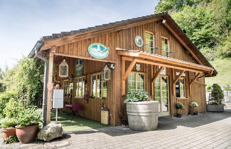 Norwyk fish hatchery & smokehouse in Thurgau, Switzerland