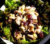 Salad of Chicken, Walnuts, Grapes, Celery & Pickled Lemon