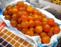 Whole candied clementines