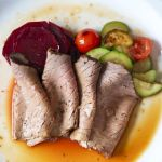 Cast iron roast beef recipe by Edible Times. GAPS diet/Paleo/Keto/Gluten free