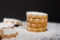 Almond shortbread cookies from Edible TImes