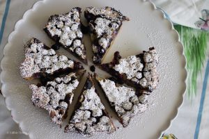 Honey Blueberry Clafoutis by Edible Times