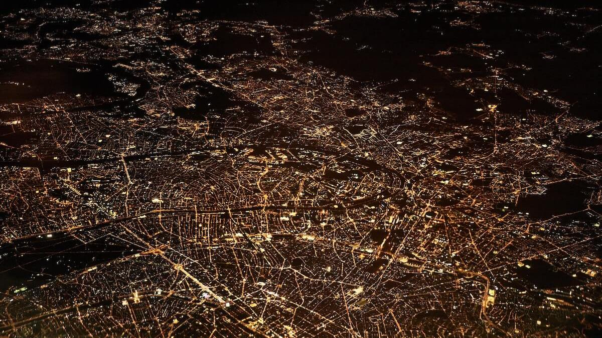 Light pollution – negative impact on health and the environment.