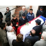Ex Presidente Allende, descansa en Cementerio General de Santiago