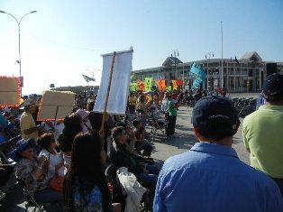 """Iglesias evangélicas en su día,  realizaron """"Marcha para Jesús"""""""