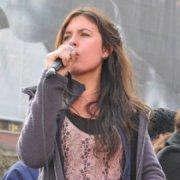 Camila Vallejo fue elegida como la figura del año