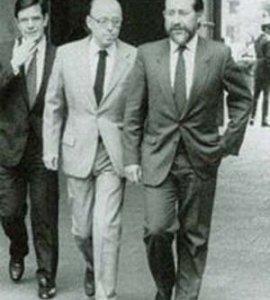 """La vida política del """"enemigo íntimo"""" de Piñera, Jovino Novoa en cuatro momentos. Dos de ellos: el crimen de Tucapel Jiménez y los graves desencuentros con el Presidente"""