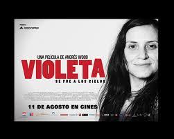 """Al aire libre en Cavancha exhibirán gratis """"Violeta se fue a los Cielos"""""""